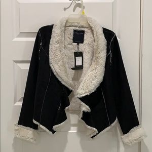 Gorgeous furry suede jacket!